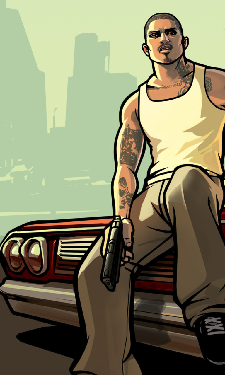Gta San Andreas wallpaper 768x1280