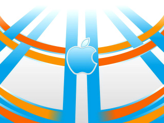 Screenshot №1 pro téma Apple Emblem 320x240