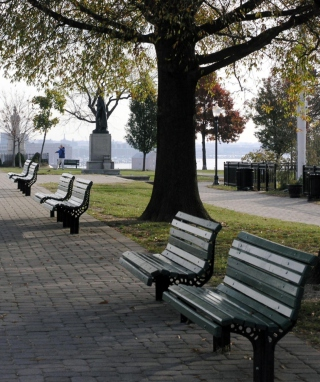 Federal Hill Park In Baltimore sfondi gratuiti per 320x480