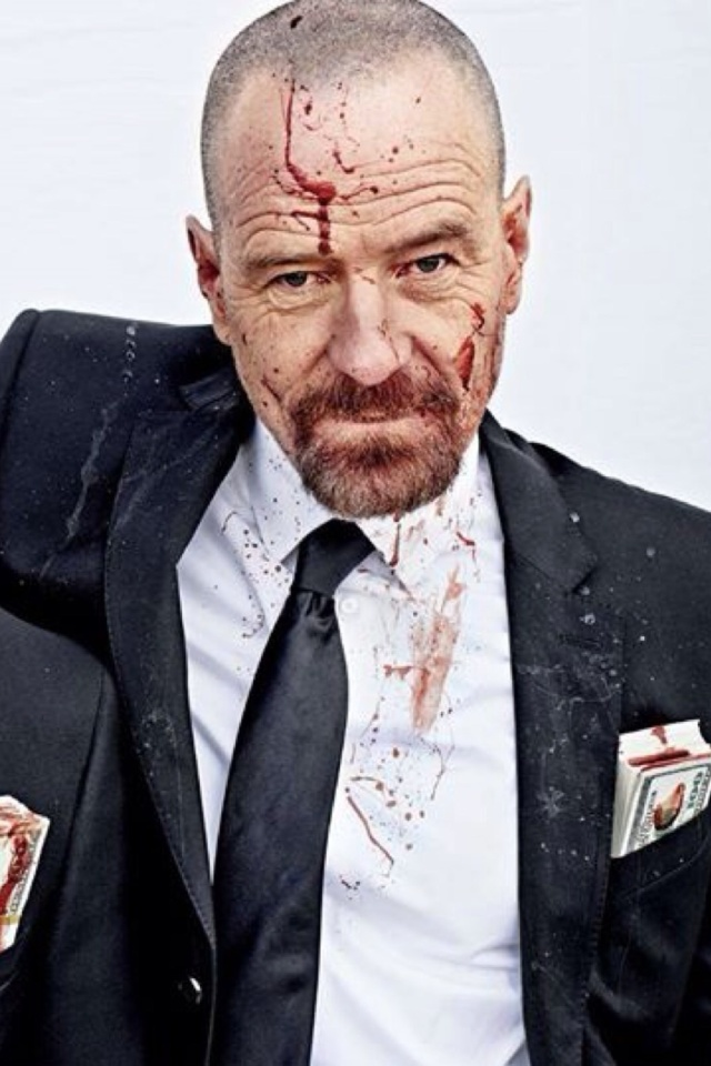 Sfondi Breaking Bad Gang 640x960