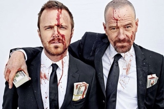 Breaking Bad Gang sfondi gratuiti per Samsung Galaxy Note 2 N7100