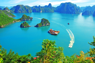 Vietnam, Halong Bay Picture for Android, iPhone and iPad