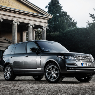 Free Range Rover Vogue Picture for iPad