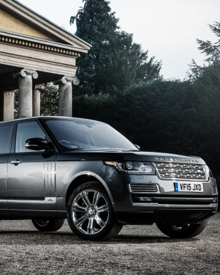 Range Rover Vogue Wallpaper for iPhone 3G