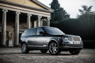 Range Rover Vogue Background for Android, iPhone and iPad
