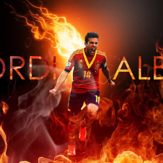 Free Jordi Alba Picture for iPad mini