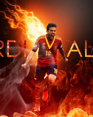 Jordi Alba Background for HTC Titan