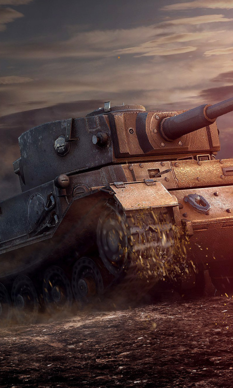 Screenshot №1 pro téma ARL 44 Tank from World of Tanks 480x800