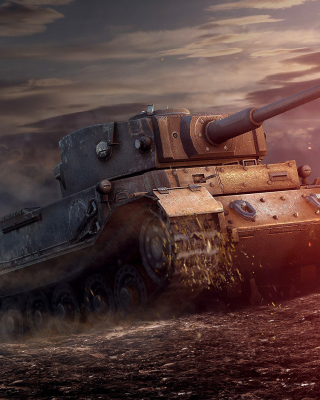 Картинка ARL 44 Tank from World of Tanks для телефона и на рабочий стол Samsung T*Omnia