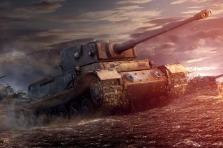 ARL 44 Tank from World of Tanks sfondi gratuiti per Samsung Galaxy S5