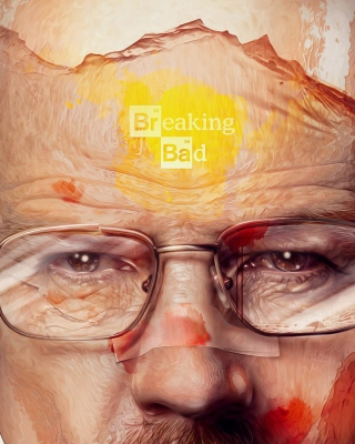Breaking Bad Artwork papel de parede para celular para iPhone 4S