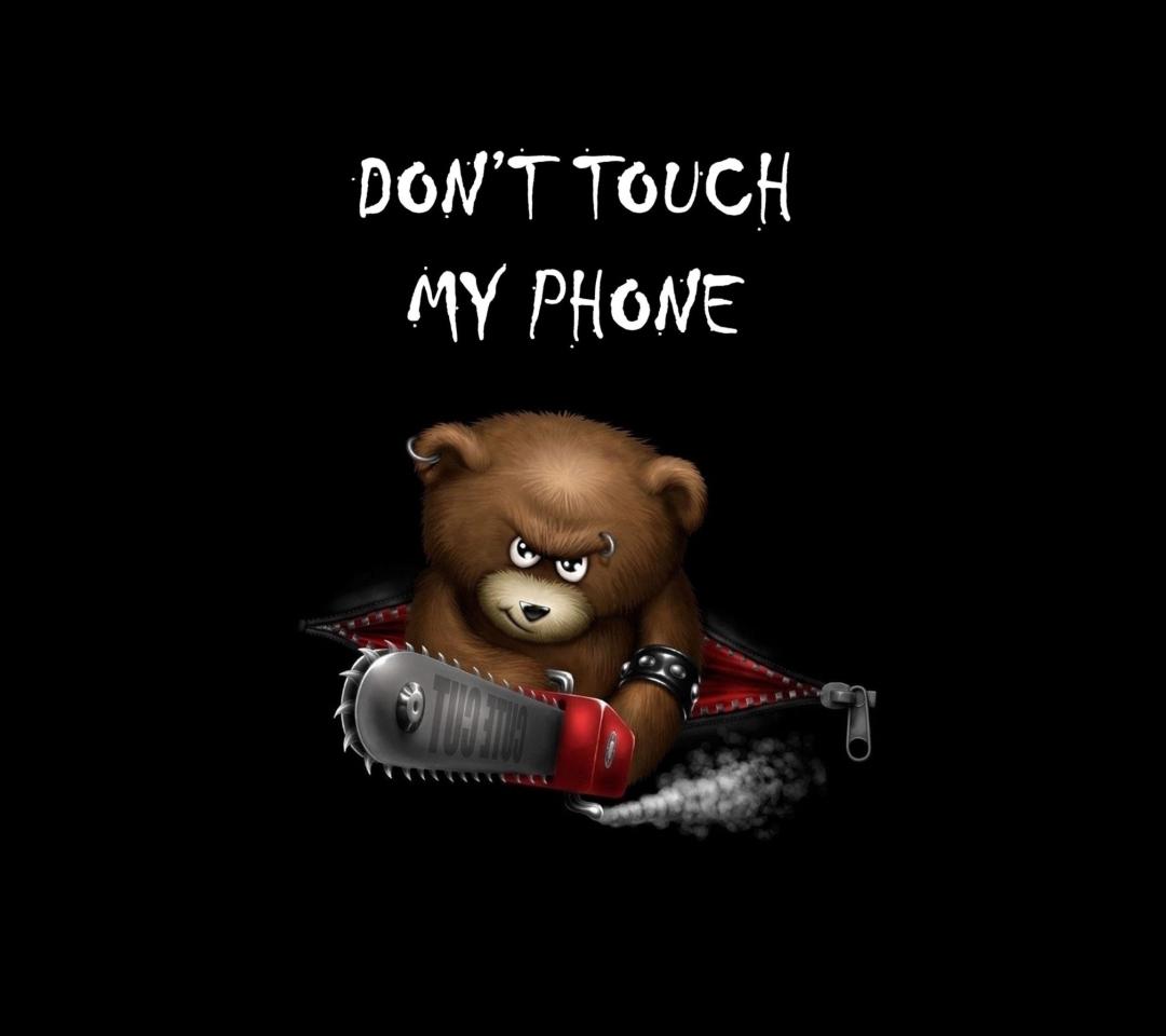 Dont Touch My Phone para Motorola RAZR XT910