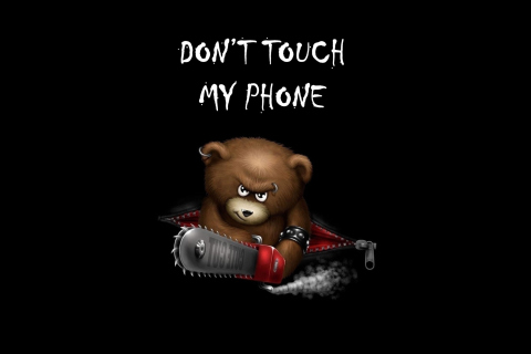 Dont Touch My Phone para LG E400 Optimus L3