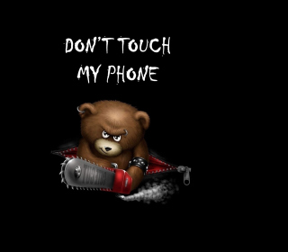 Dont Touch My Phone Picture for iPad mini 2