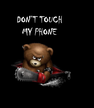 Dont Touch My Phone sfondi gratuiti per iPhone 6