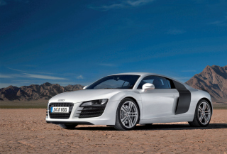 Audi R8 Car Desktop Background for 1080x960