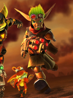 Screenshot №1 pro téma Jak and Daxter - Ratchet and Clank 240x320