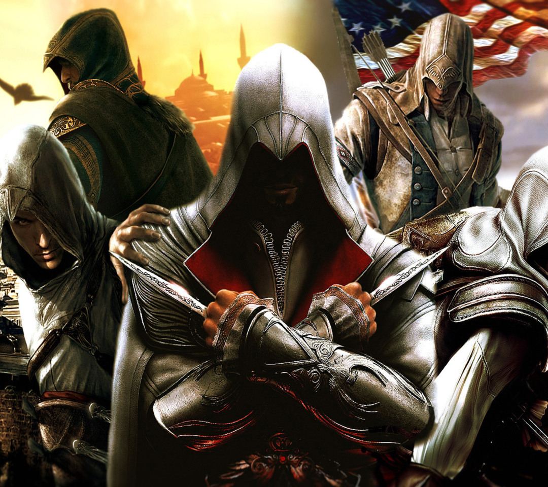 Assassins Creed Altair Ezio Connor Wallpaper For Lenovo S720