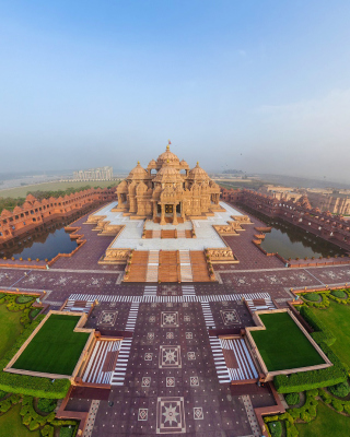 Kostenloses Akshardham, Delhi, Golden Temple Wallpaper für iPhone 5