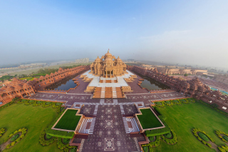 Akshardham, Delhi, Golden Temple Wallpaper for Android 2560x1600