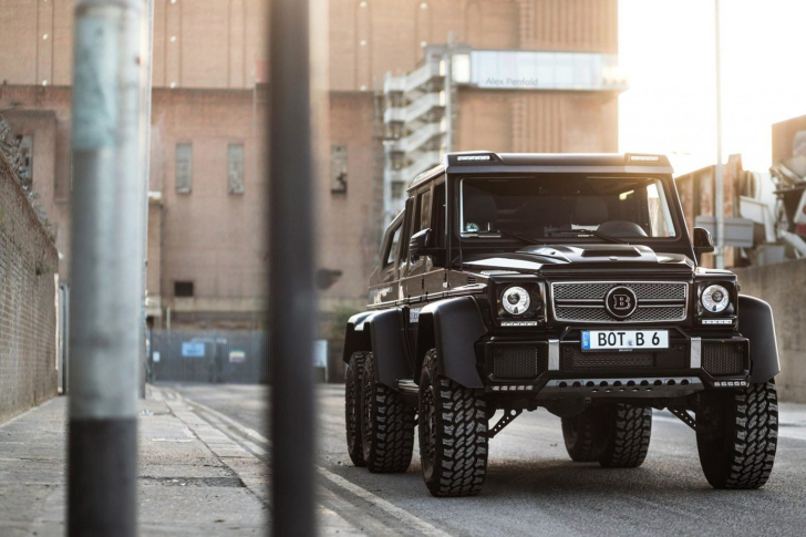 Mercedes Benz G63 AMG 6x6 Devil Pickup wallpaper