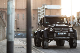Mercedes Benz G63 AMG 6x6 Devil Pickup Background for Android, iPhone and iPad
