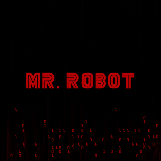 Mr Robot Logo sfondi gratuiti per iPad mini