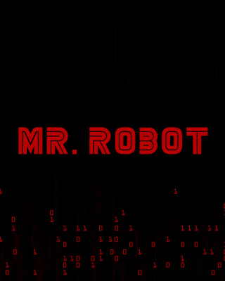 Mr Robot Logo Wallpaper for HTC Pure
