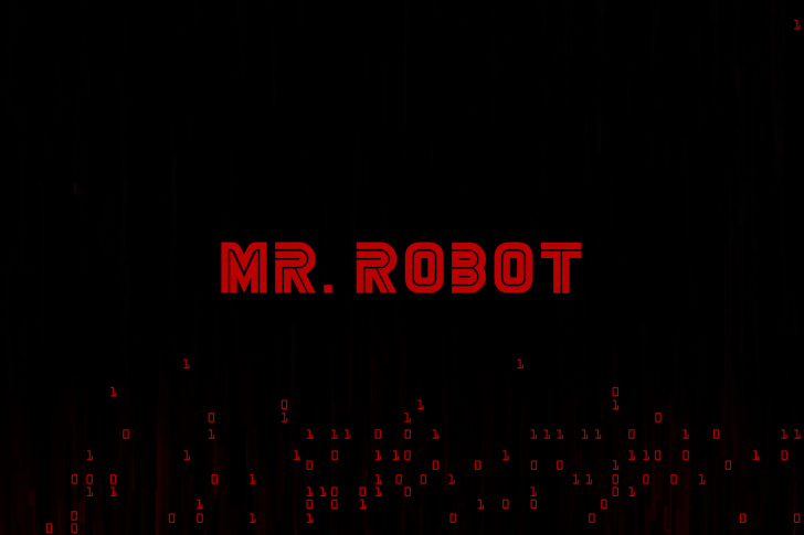 Mr Robot Logo wallpaper