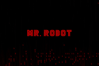Mr Robot Logo Wallpaper for 480x400