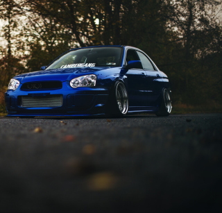 Subaru Impreza WRX STI Wallpaper for iPad 2