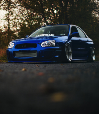 Subaru Impreza WRX STI Wallpaper for HTC Titan