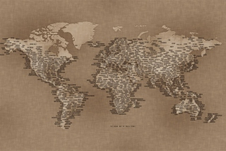 World Map sfondi gratuiti per Samsung Galaxy Note 2 N7100