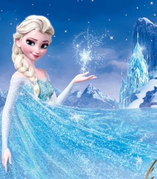 Frozen, Walt Disney Wallpaper for Nokia Asha 310