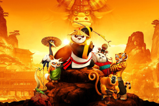 Kung Fu Panda 3 3D sfondi gratuiti per cellulari Android, iPhone, iPad e desktop