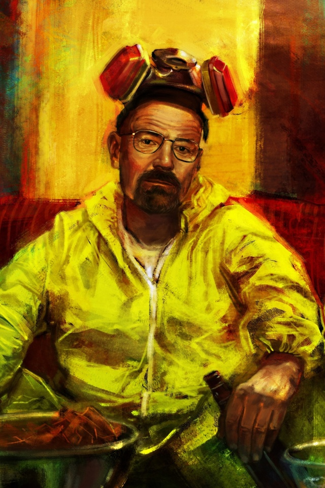 Screenshot №1 pro téma Breaking Bad with Walter White 640x960