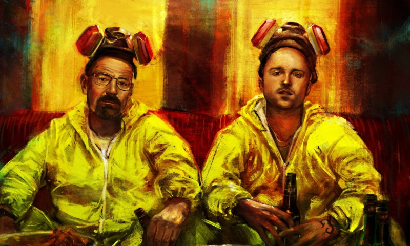 Screenshot №1 pro téma Breaking Bad with Walter White 800x480
