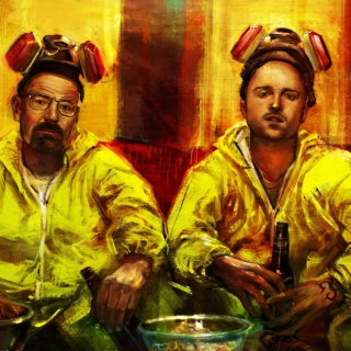Kostenloses Breaking Bad with Walter White Wallpaper für iPad 2