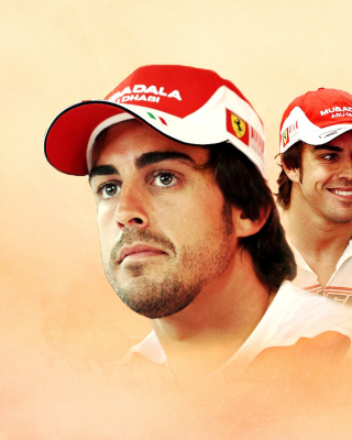 Free Fernando Alonso Picture for Nokia C1-01