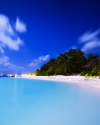 Vilu Reef Beach and Spa Resort, Maldives Background for HTC Titan