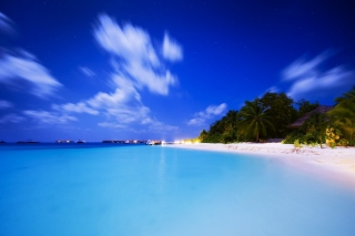 Vilu Reef Beach and Spa Resort, Maldives sfondi gratuiti per Samsung Galaxy Ace 3