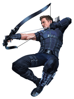Hawkeye superhero in Avengers Infinity War 2018 wallpaper 240x320
