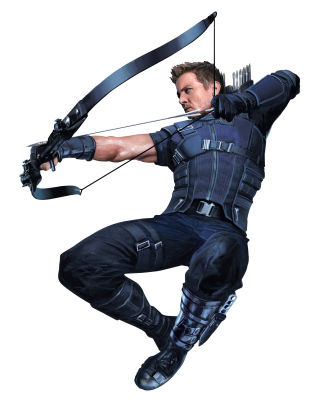 Hawkeye superhero in Avengers Infinity War 2018 Wallpaper for iPhone 5