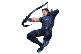 Free Hawkeye superhero in Avengers Infinity War 2018 Picture for HTC One X