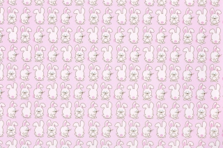 Free Pink Rabbits Picture for Android, iPhone and iPad