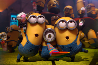 Minions Party sfondi gratuiti per cellulari Android, iPhone, iPad e desktop