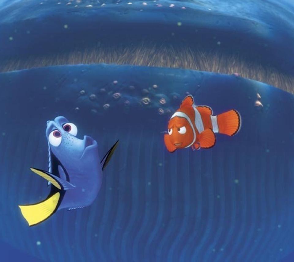 Finding Nemo Whale para Sony Ericsson XPERIA Neo V