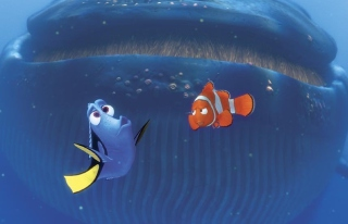 Finding Nemo Whale Background for Android, iPhone and iPad