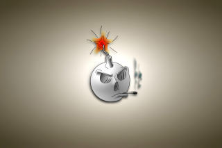 Bomb with Wick Background for Android, iPhone and iPad