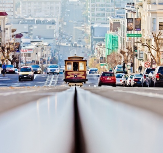 San Francisco Streets Background for iPad mini
